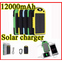 Cargador Portatil Power Bank Solar 12000 Mah Nuevo- Banfield