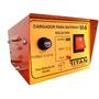 Cargador De Bateria Auto 12volt Titan Con Indicador De Carga