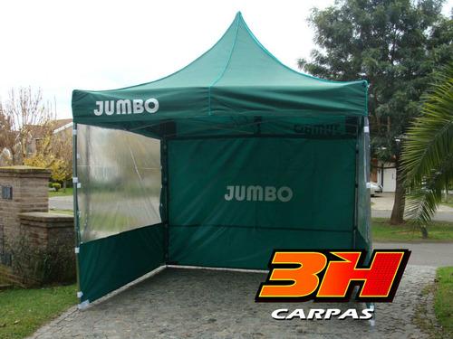Carpa Gazebo Gacebo Plegable 3h 3x3m Aluminio