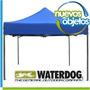 Carpa Gazebo Plegable De Acero Waterdog 4 Alturas Posibles