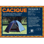 Carpa Igloo Cacique P/3 P Impecable