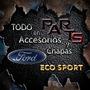 Paragolpe Trasero Mod/viejo 03/07 Ford Eco-sport Y Mas...