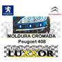 Moldura Cromada Paragolpe Delantero Peugoet 408 Original