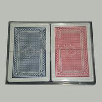 Naipes Poker Simil Royal C/ Estuche Acrilico 2 X 2 Masos C/u