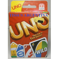 Uno Juego De Naipes Original Mattel - Tissus Arg. - Juegos