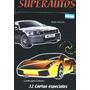 Juego De Cartas Super Autos / Naipes X 5 Mazos