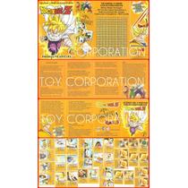 Mazo Trading Cartas Coleccionables Dragon Ball Z Torneo Cell