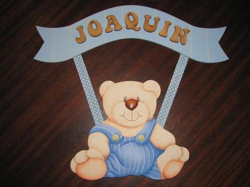 Cartel Bienvenida, Nacimiento, Baby Shower C/ Nombre P/ Bebe ...