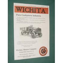 Publicidad Rural 1920 Camiones Wichita Motors Company