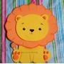 Animales Selva. 12 Figuras Baby Shower En Goma Eva 20 Cm