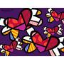 Brito -love In The Air En Tela Canvas 100x75 Cm