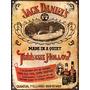 Carteles De Chapa Whisky Jack Daniels No Es Vinilo