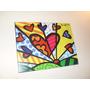 Cuadros Romero Britto - Arte Pop - 15x20