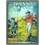 Cartel Cuadro De Madera Vintage Whisky Johnnie Walker Golf