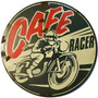 Carteles Antiguos 28cm Chapa Gruesa Motos Café Racer A-021
