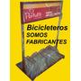 Bicicletero Nuevo,con El Logo De Su Comercio!!!