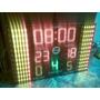Reloj Tanteador Deportivo Electronico Led Basquet Con Faltas
