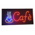 Cartel Led Cafe 48 X 25 Cm.