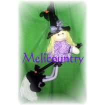 Muñecos Soft Country Bruja 90cm Helloween Dia De La Madre