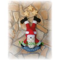 Muñecos Country Papà Noel Navidad 65cm + Cartel