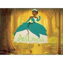 Princesas Planas 60 Cm Rapunzel Tiana