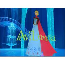 Princesas Planas 60 Cm Rapunzel Tiana Frozen Elsa Olaf