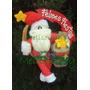 Muñecos Country Rosca Papà Noel Navidad