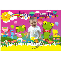 Banners Cumpleaños Infantiles-baby Tv-many