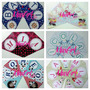 Banderines Personalizados - Cumpleaños Infantil - Candy Bar
