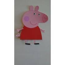 Figura Peppa Pig En Goma Eva De 50 Cms