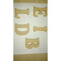Letras Fibrofacil 6cm