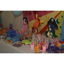 Muñecos Corporeos Backyardigans Candy Bar / Salones Fiesta