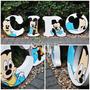 Candy Bar Letras Personalizadas Mickey