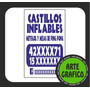 Oferta Posteros!!- Pack De 100 Carteles Para Postes