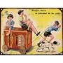 Cartel Chapa Vintage Publicidad Antigua Bizcocho Canale M646