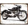 Cartel De Chapa Publicidad Antigua Moto Bmw R27 A016