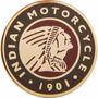Carteles Antiguos De Chapa Gruesa 50cm Moto Indian Mot-070