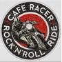 Carteles Antiguos De Chapa Gruesa 50cm Café Racer Moto -022