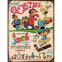 Cartel Chapa Publicidades Antiguas Chocolate Jack P164