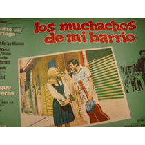 Afiche Pelicula Los Muchachos De Mi Barrio Palito Ortega