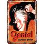 Carteles Antiguos De Chapa 20x30cm Publicidad Geniol Va-001
