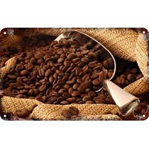 Carteles Antiguos De Chapa Gruesa 60x40cm Coffee Café Al-153