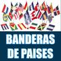 Banderas De Países 90 X 60 Cms * Argentina Brasil Francia