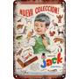 Carteles Antiguos De Chapa 60x40cm Chocolatín Jack Al-180