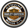 Carteles Antiguos Chapa Gruesa 50cm Harley Davidson Moto-289