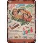 Carteles Antiguos De Chapa 60x40cm Chocolatín Jack Al-181