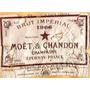 Carteles Antiguos Chapa Gruesa 60x40cm Champagne Vino Dr-201