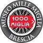 Carteles Antiguos Chapa Gruesa 50cm 1000 Mille Miglia Au-483
