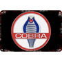 Carteles Antiguos Chapa 60x40cm Ford Cobra Mustang Au-031