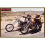 Carteles Antiguos De Chapa Gruesa 60x40cm Easy Rider Fi-157